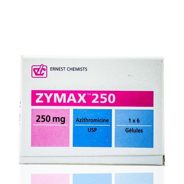 Zymax 250 Capsules Image