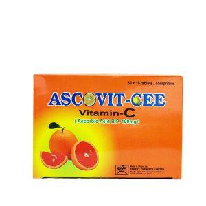 Ascovit-Cee (Vitamin C) Tab. Image