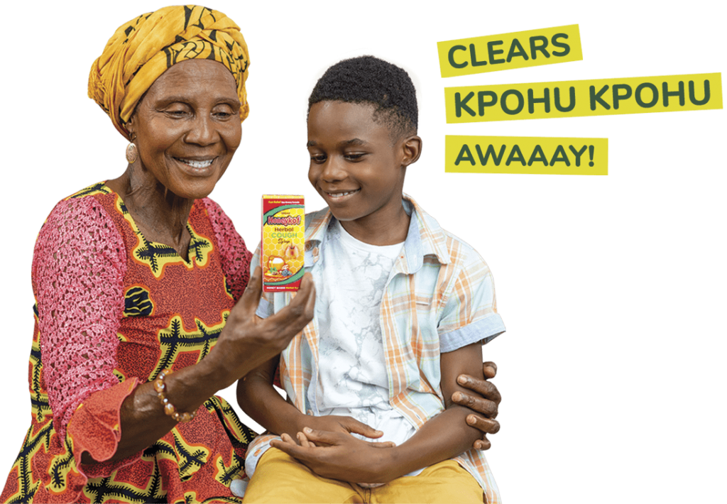 Honeykof Kpohu Lady and boy