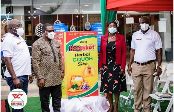 Ernest Chemists launches new herbal cough remedy