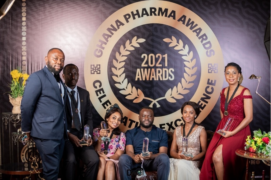 Ernest Chemists Honoured At Ghana Pharma Awards 2021